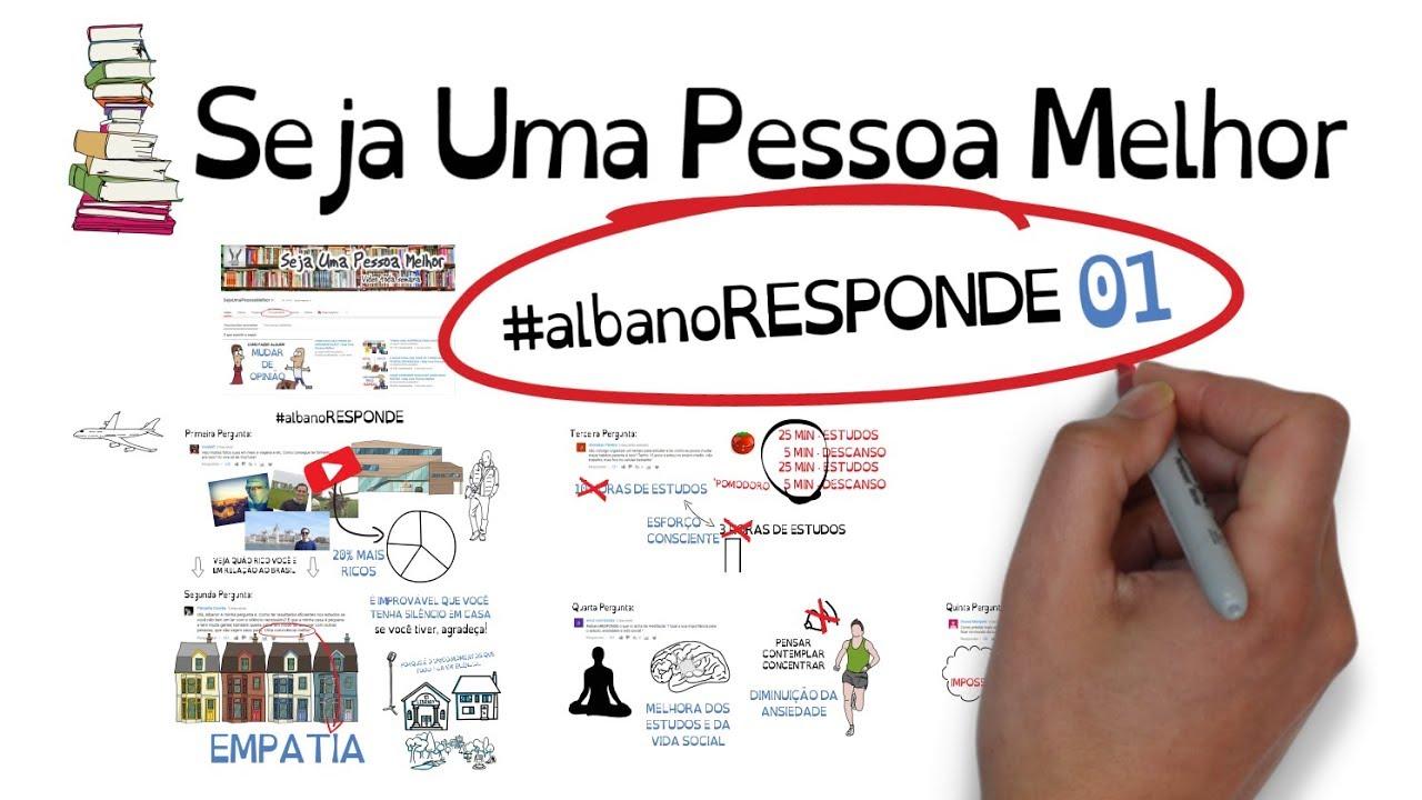 #albanoRESPONDE 01 - Meditação, Atenção, Organização e Dinheiro