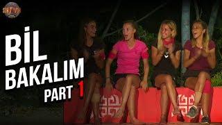 Bil Bakalım 1. Part   25. Bölüm   Survivor Türkiye - Yunanistan
