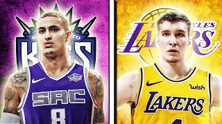 LAKERS KYLE KUZMA TRADE TO KINGS FOR BOGDAN BOGDANOVIC REJECTED! NBA TRADE DEADLINE UPDATE!