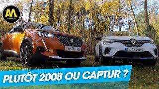 Duel de SUV : Renault Captur vs nouveau Peugeot 2008