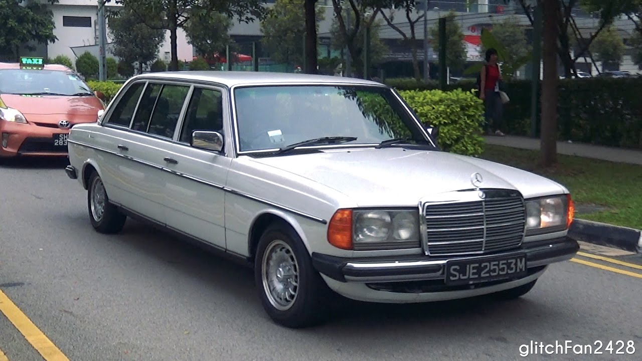 1984 mercedes benz 250 w123 limo in singapore youtube for Mercedes benz singapore