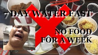 7 DAY WATER FAST - NO FOOD FOR A WEEK   Philippines   Basti Campos