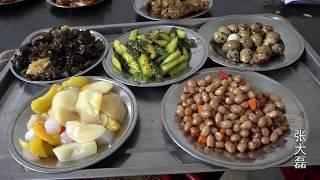 河南三门峡230元一桌的农村喜宴 比大饭店999元的还好