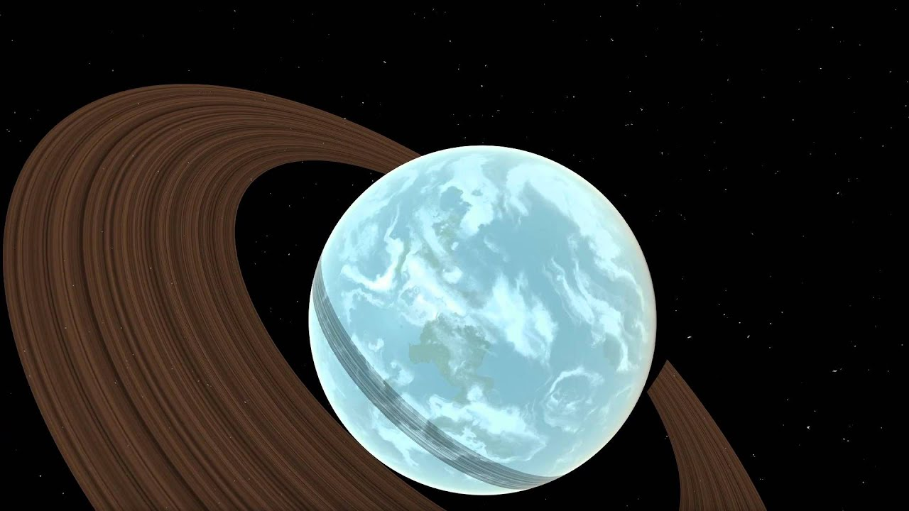 Rendering a planet with two triangles | reindernijhoff net