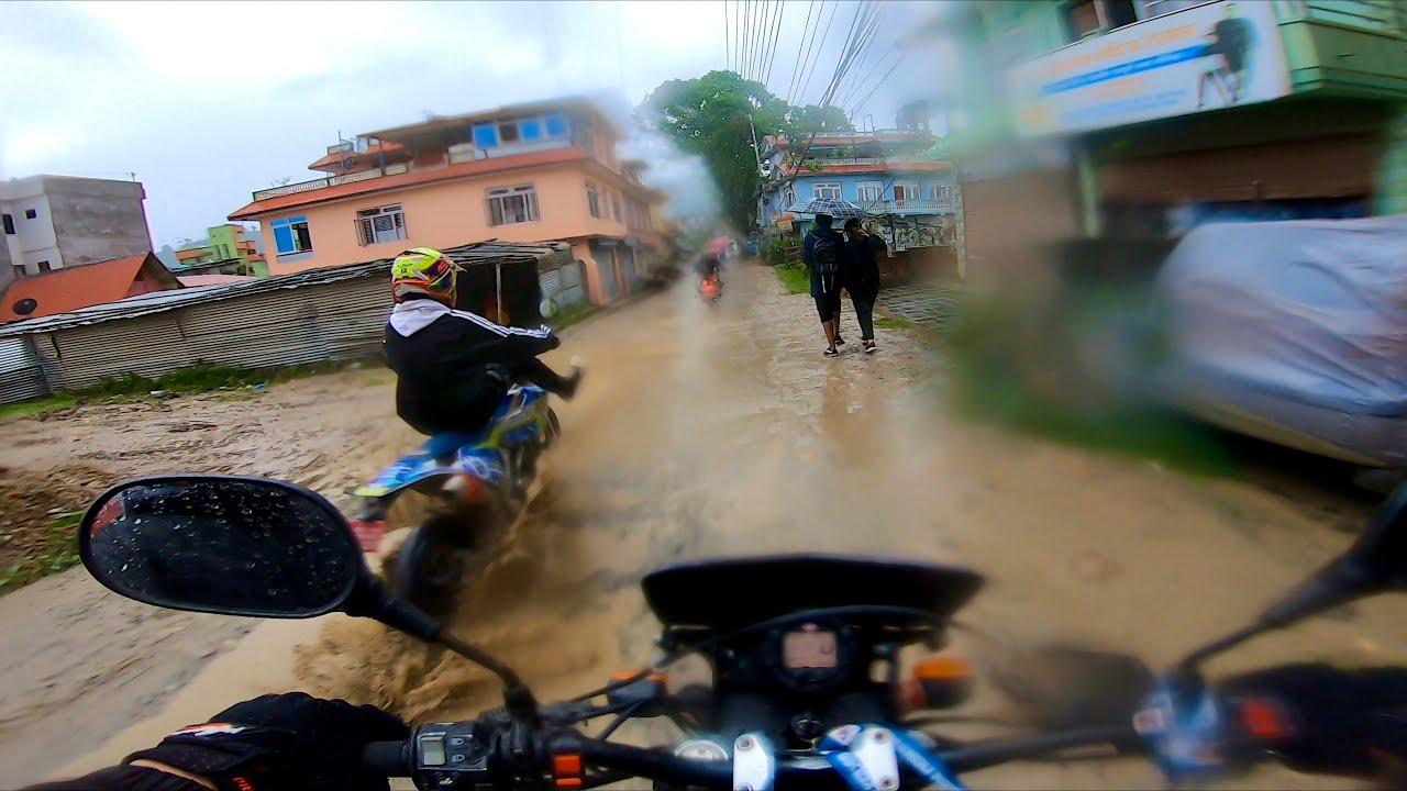 Monsoon Ride / Crossfire  Vs Vr150 / Motovlog