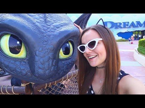 КАК ПРИРУЧИТЬ Берсика и Дракона! Влог из парка MotionGate | Монстры на каникулах | Dubai | Дубай