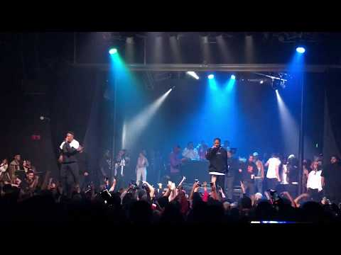 idontknowjeffrey Xavier Wulf Bankroll Rico - 100s & Hope / 5 On the Dot (Live in Santa Ana, 5/20/18)