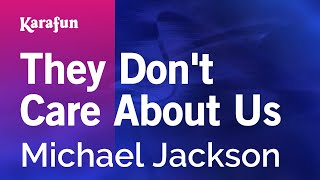Karaoke They Don't Care About Us - Michael Jackson *