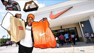 SNEAKER SHOPPING AT THE OUTLETS! JORDANS AND HEAT FOUND! HUGE GRAND OPENING PICKUP VLOG!