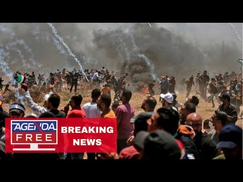 52 Dead in Gaza Protests - LIVE BREAKING NEWS COVERAGE