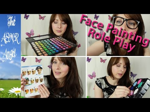 ASMR Role Play - Spring Fling - Face Painting