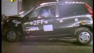 Краш-тест и видео краш-тест Fiat Punto (Фиат Пунто) - Автомобильный информационный портал - AutoTurn.ru