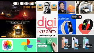 TechNews 23  Why The Amazon Logo Is Offensive?, Redmi Note 10 Series, Pubg, Ample's Battery Swap Etc