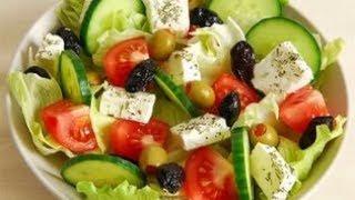 Шикарный салат для ежедневного приготовления без майонеза.👍Салаты рецепты☘☘☘🍽