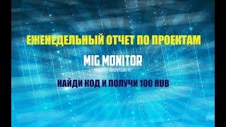 Лучшие игры с выводом денег - обзор проектов на мониторинге MIG MONITOR 04.03.2019<