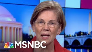 Elizabeth Warren: This Is Donald Trump Bringing His Chaos   Rachel Maddow   MSNBC