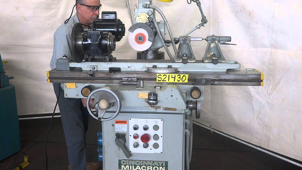 Tool And Cutter Grinder ~ Cincinnati quot tool cutter grinder youtube