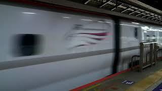 H5系H4編成+E6系Z23編成 東北新幹線 やまびこ223号 東京駅 【4K】