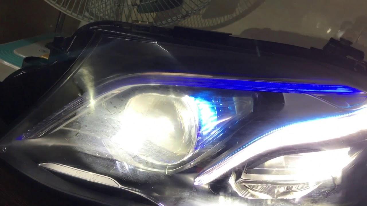 w213, w205 w212 w207 w218 Mercedes-Benz headlamp programming
