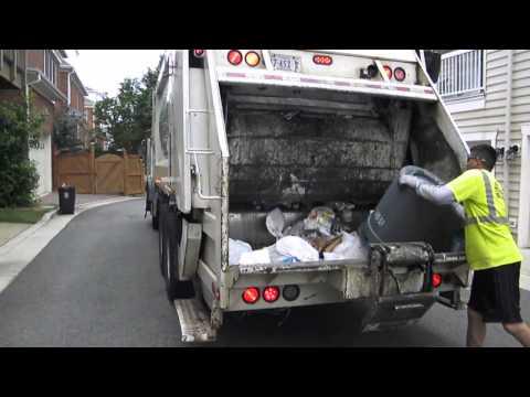 Summer 2013 Series: American Disposal Truck 44 On Trash