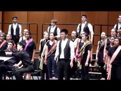 Saratoga High School Choir 2016 - Balleilakka