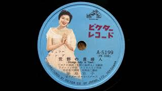 築地容子 - 荒野の貴婦人 Strange Lady in Town (1955)