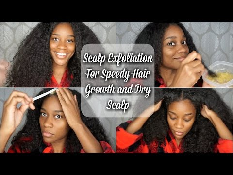 How To: Scalp Exfoliation for Faster Hair Growth and Dry Scalp