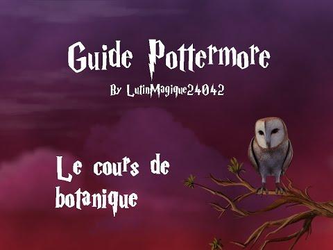 Guide Pottermore // Le cours de botanique...
