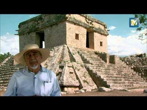 El Templo de las Siete muñecas,  Dzibilchaltún, Yucatán