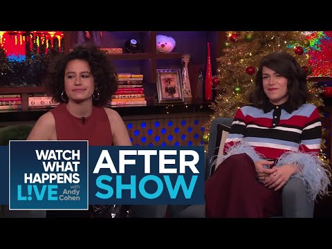 After : Where Did The 'Broad City' Stars Meet?  WWHL