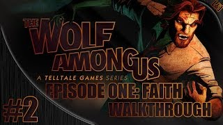 The Wolf Among Us Episode 1 Gameplay Walkthrough w/ Pixelz Part 2 - Bigby