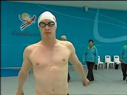 100m Breaststroke HEAT - Melbourne Commonwealth Games 2006