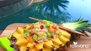 Thai Sweet Rice, Low Fat Raw Vegan