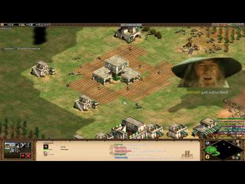 AOE2HD 4v4 Arabia Teamgame + Tim and Grass Storytime