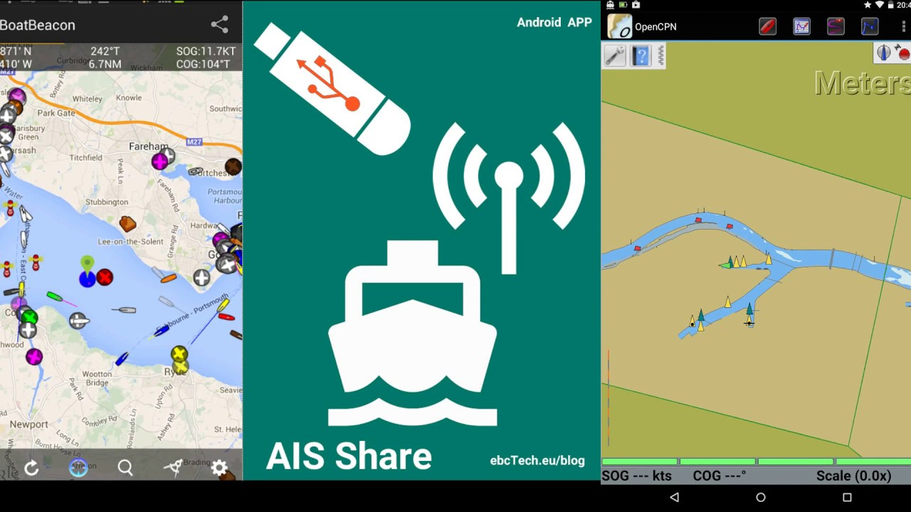 AIS SHARE - Android (RTL-SDR AIS receiver)