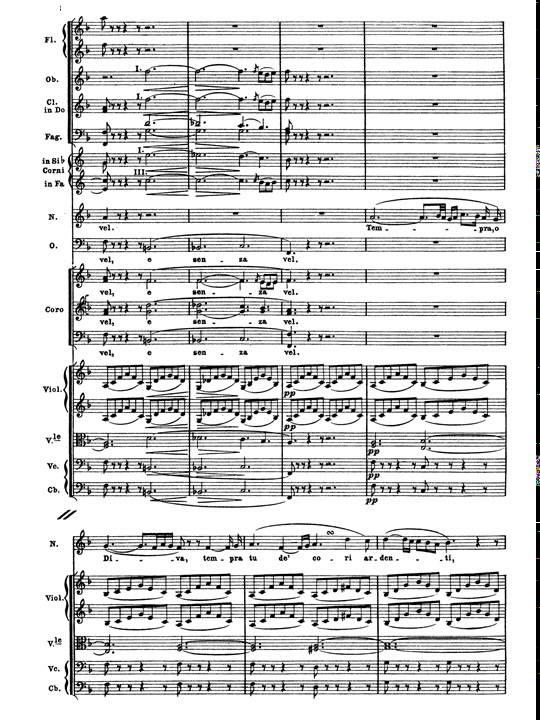 Bellini norma casta diva aria soprano y orquesta - Norma casta diva testo ...