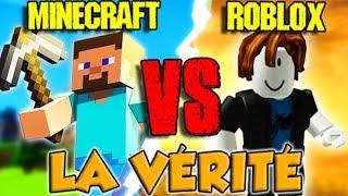 MINECRAFT VS ROBLOX: THE TRUTH