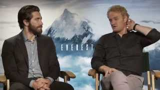 Everest Interview - Jake Gyllenhaal & Jason Clarke