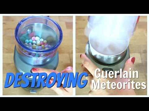 THE MAKEUP BREAKUP - Destroying/grinding up, weighing & repressing Guerlain Meteorites