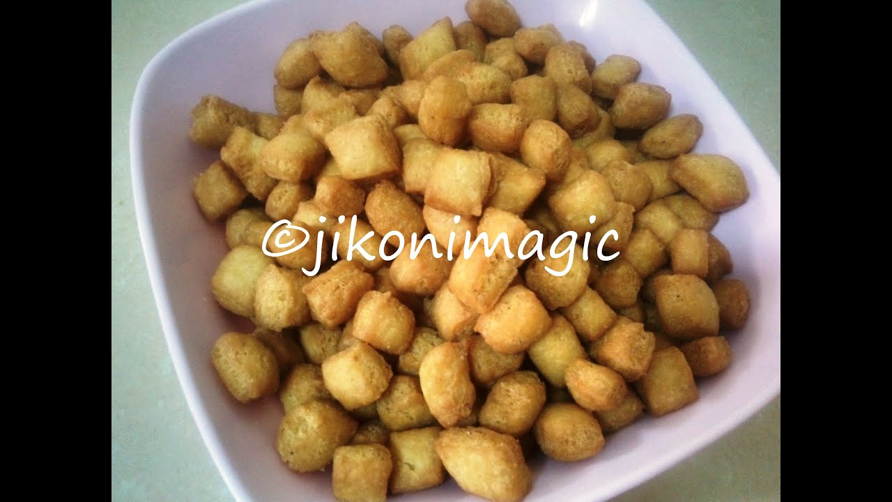 Kenyan Mandazi Bites Snack Chin Chin Shakkar Para Jikoni Magic Youtube