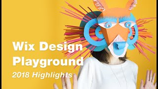 Wix Design Playground: 2018 Highlights
