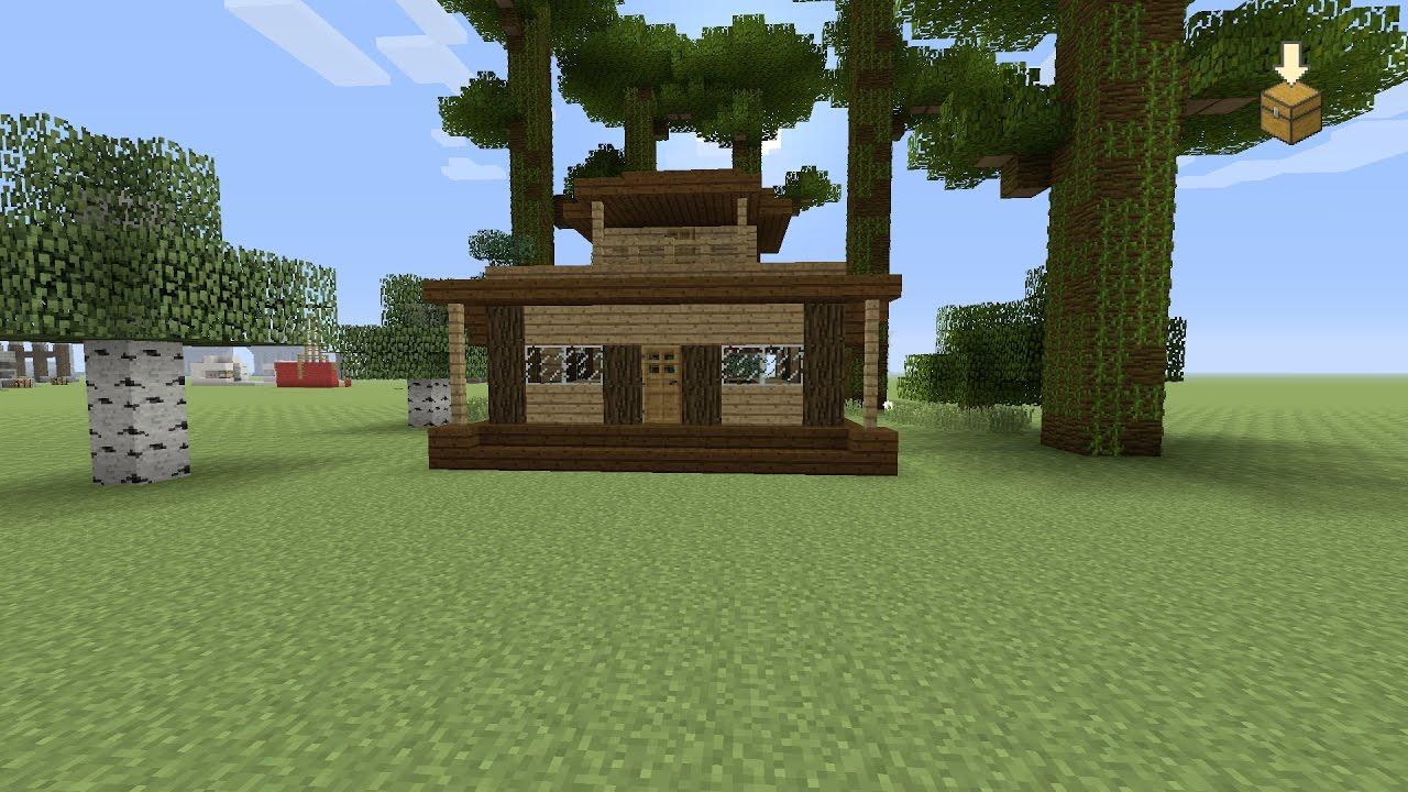 Impressies van de bouw van het huis: Minecraft een …