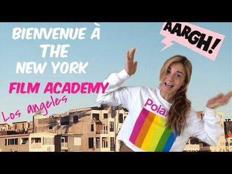 Ma première semaine à the New York film academy:)