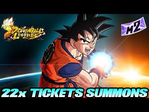 22x Tickets Summons Opening! 😎 Entspannung für gestresste BR Spieler! 😜 | Dragon Ball Legends