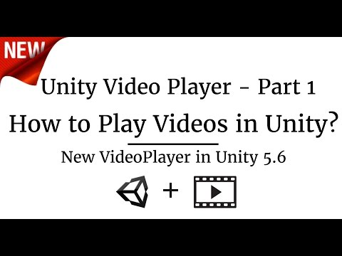 How to play videos on Unity using new VideoPlayer - Just Code