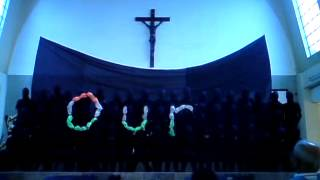 Pondo ng Pinoy THEME SONG Handmine_HOLY ROSARY PARIS,choir Tala Caloocan