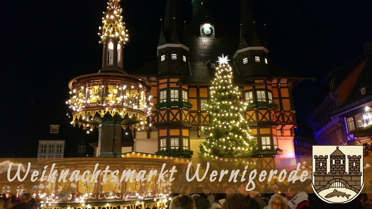 Wernigerode Weihnachtsmarkt.Der Weihnachtsmarkt Wernigerode