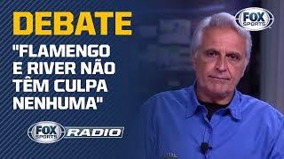 """""""FLAMENGO E RIVER NÃO TÊM CULPA NENHUMA""""; RÁDIO DEBATE"""