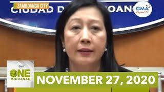 One Mindanao: November 27, 2020