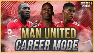 FIFA 18 Career Mode: Manchester United #5 - CHAMPIONS LEAGUE!! (FIFA 18 GAMEPLAY)